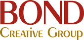Advertising agency, Bond Creative Group, logo.